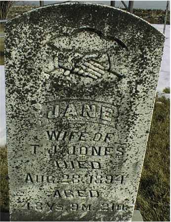 JONES, JANE - Jackson County, Iowa | JANE JONES