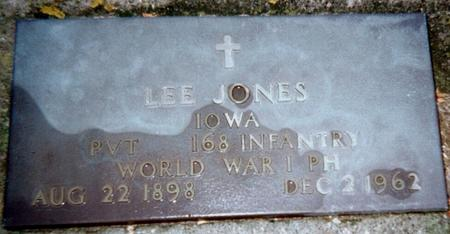 JONES, LEE - Jackson County, Iowa | LEE JONES