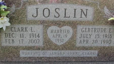 JOSLIN, CLARK - Jackson County, Iowa | CLARK JOSLIN