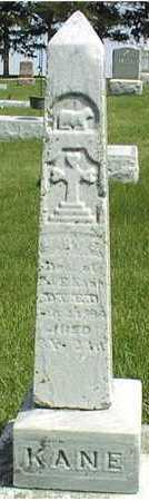 KANE, MARY E. - Jackson County, Iowa | MARY E. KANE
