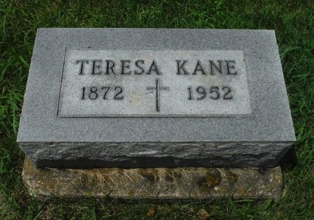KANE, TERESA - Jackson County, Iowa | TERESA KANE