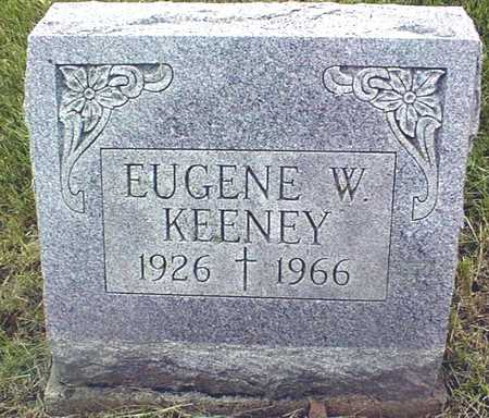 KEENEY, EUGENE W. - Jackson County, Iowa | EUGENE W. KEENEY