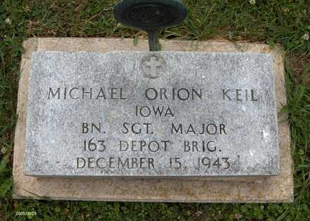 KEIL, MICHAEL ORION - Jackson County, Iowa   MICHAEL ORION KEIL