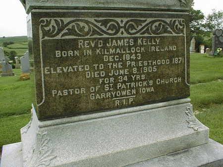KELLY, REV. JAMES - Jackson County, Iowa | REV. JAMES KELLY