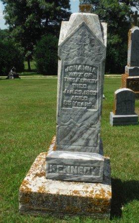 KENNEDY, JOHANNA - Jackson County, Iowa | JOHANNA KENNEDY