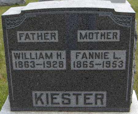 KIESTER, WILLIAM H. - Jackson County, Iowa   WILLIAM H. KIESTER