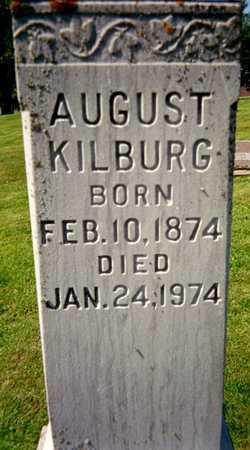 KILBURG, AUGUST - Jackson County, Iowa | AUGUST KILBURG