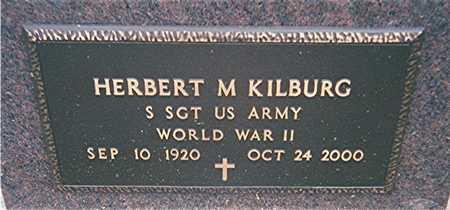 KILBURG, HERBERT M. - Jackson County, Iowa   HERBERT M. KILBURG