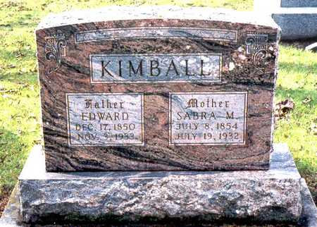 WALKER KIMBALL, SABRA M. - Jackson County, Iowa | SABRA M. WALKER KIMBALL