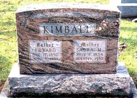 KIMBALL, EDWARD - Jackson County, Iowa | EDWARD KIMBALL