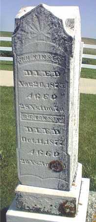 KINSEY, J.H. - Jackson County, Iowa | J.H. KINSEY