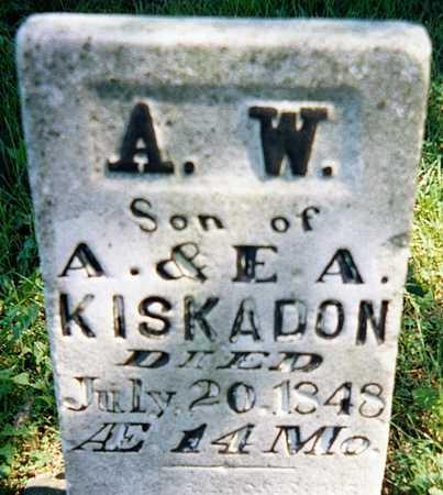 KISKADON, A.W. - Jackson County, Iowa | A.W. KISKADON