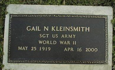 KLEINSMITH, GAIL N. - Jackson County, Iowa | GAIL N. KLEINSMITH