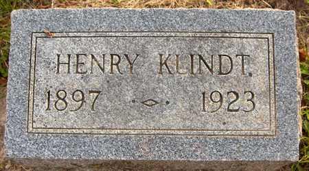 KLINDT, HENRY - Jackson County, Iowa | HENRY KLINDT
