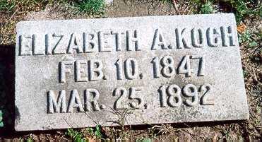 KOCH, ELIZABETH ANN - Jackson County, Iowa | ELIZABETH ANN KOCH