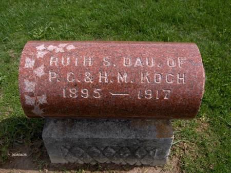 KOCH, RUTH S. - Jackson County, Iowa | RUTH S. KOCH