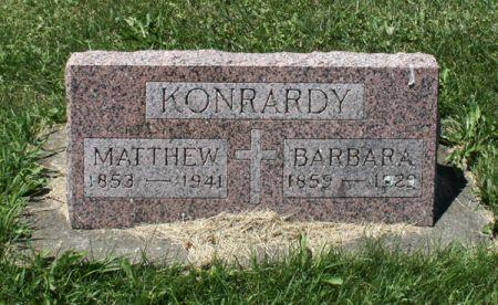 SCHILTZ KONRARDY, BARBARA - Jackson County, Iowa   BARBARA SCHILTZ KONRARDY
