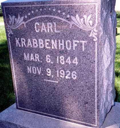 KRABBENHOFT, CARL - Jackson County, Iowa | CARL KRABBENHOFT