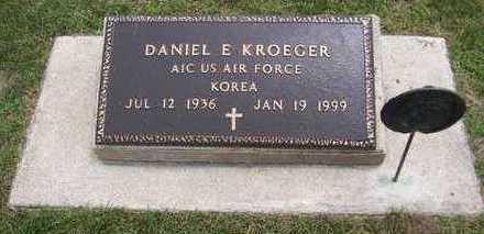 KROEGER, DANIEL E. - Jackson County, Iowa   DANIEL E. KROEGER