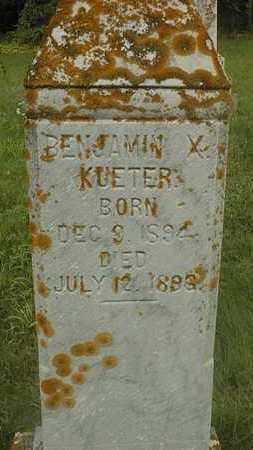 KUETER, BENJAMIN X. - Jackson County, Iowa | BENJAMIN X. KUETER
