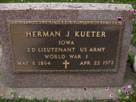 KUETER, HERMAN J. - Jackson County, Iowa | HERMAN J. KUETER