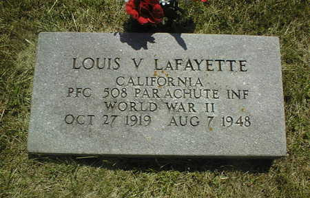 LAFAYETTE, LOUIS F. - Jackson County, Iowa | LOUIS F. LAFAYETTE