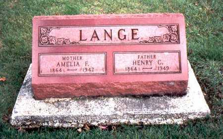 CLAUSEN LANGE, AMELIA F. - Jackson County, Iowa | AMELIA F. CLAUSEN LANGE
