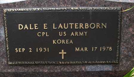 LAUTERBORN, DALE E. - Jackson County, Iowa   DALE E. LAUTERBORN