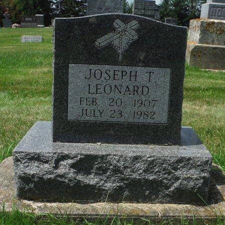 LEONARD, JOSEPH T. - Jackson County, Iowa   JOSEPH T. LEONARD