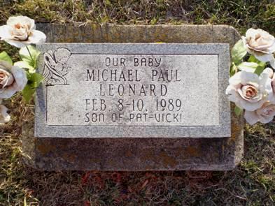 LEONARD, MICHAEL PAUL - Jackson County, Iowa   MICHAEL PAUL LEONARD