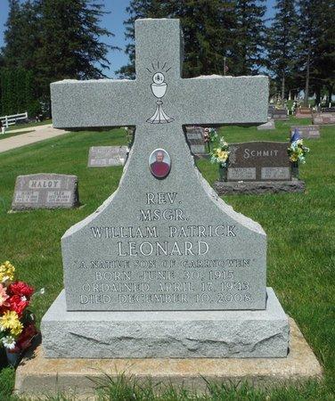 LEONARD, REV. MSGR. WILLIAM PATRICK - Jackson County, Iowa | REV. MSGR. WILLIAM PATRICK LEONARD