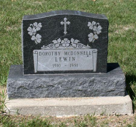 LEWIN, DOROTHY - Jackson County, Iowa | DOROTHY LEWIN