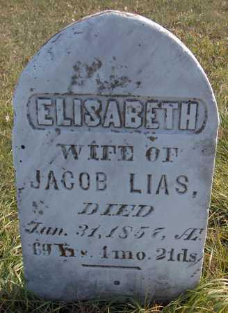 LIAS, ELISABETH - Jackson County, Iowa | ELISABETH LIAS