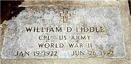 LIDDLE, WILLIAM D. - Jackson County, Iowa   WILLIAM D. LIDDLE