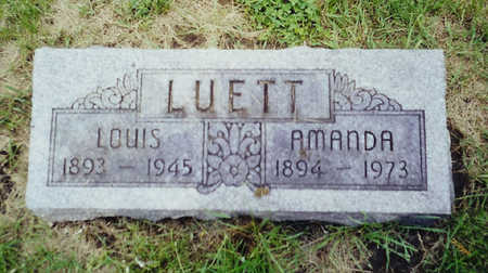 LUETT, LOUIS - Jackson County, Iowa | LOUIS LUETT