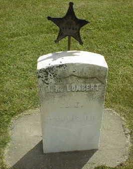 LUMBERT, J.R. - Jackson County, Iowa   J.R. LUMBERT