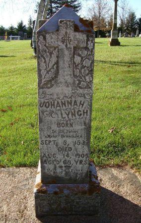 LYNCH, JOHANNAH - Jackson County, Iowa   JOHANNAH LYNCH