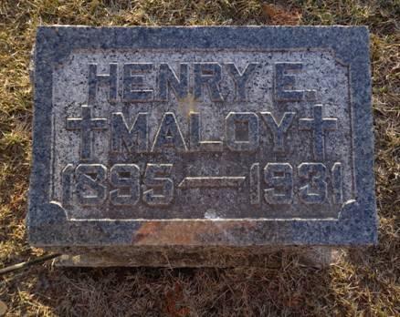 MALOY, HENRY E. - Jackson County, Iowa | HENRY E. MALOY