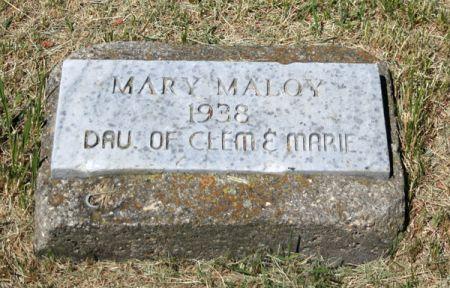 MALOY, MARY - Jackson County, Iowa | MARY MALOY