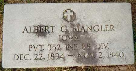 MANGLER, ALBERT G. - Jackson County, Iowa | ALBERT G. MANGLER