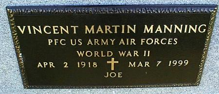 MANNING, VINCENT MARTIN - Jackson County, Iowa   VINCENT MARTIN MANNING
