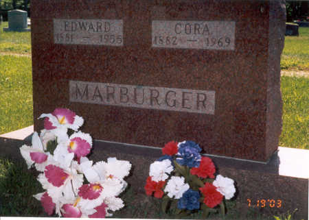 MARBURGER, EDWARD SR. - Jackson County, Iowa | EDWARD SR. MARBURGER