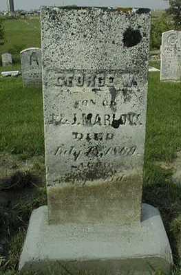MARLOW, GEORGE W. - Jackson County, Iowa | GEORGE W. MARLOW