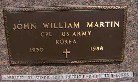 MARTIN, JOHN WILLIAM - Jackson County, Iowa | JOHN WILLIAM MARTIN