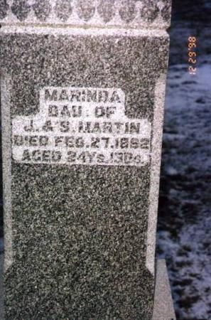 MARTIN, MARINDA - Jackson County, Iowa | MARINDA MARTIN