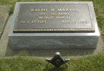 MARVIN, RALPH W. - Jackson County, Iowa | RALPH W. MARVIN
