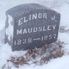 MAUDSLEY, ELINOR J. - Jackson County, Iowa | ELINOR J. MAUDSLEY