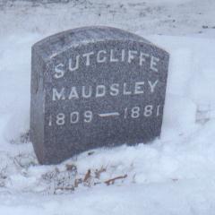MAUDSLEY, SUTCLIFFE - Jackson County, Iowa | SUTCLIFFE MAUDSLEY