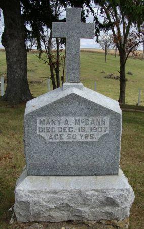 MCCANN, MARY A. - Jackson County, Iowa | MARY A. MCCANN