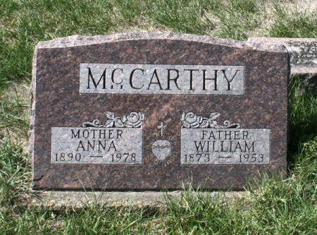 MCCARTHY, WILLIAM - Jackson County, Iowa   WILLIAM MCCARTHY